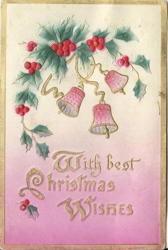 antique christmas postcard 1911 100 years by