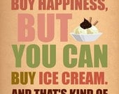 You can't buy happiness.......