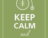 Keep calm and ride on.