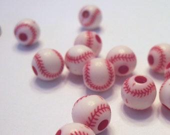 Baseball Beads (2doz)
