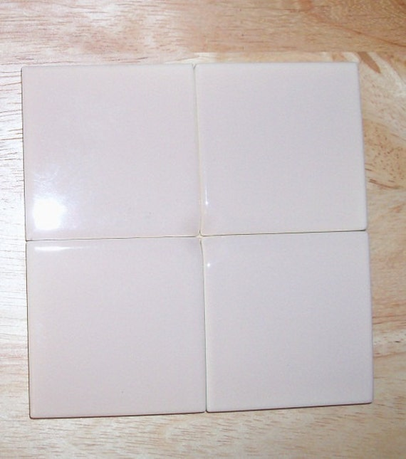 Ceramic tile Mocha made by Mariwasa Philippines Lot of 30 2X2 tiles NOS