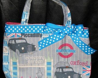 London England Vacation Girl's Handbag, Purse