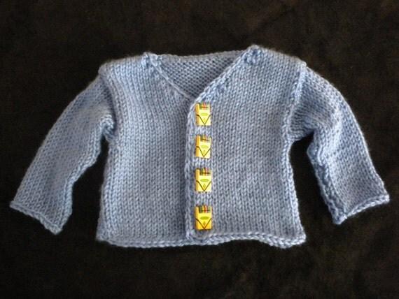 Baby boy's soft sweater