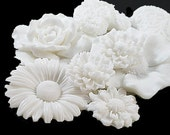 Garden White Soap Collection - Decorative Soap Gift
