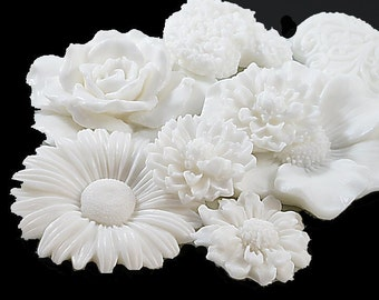 Garden White Soap Collection - Decorative Soap Gift