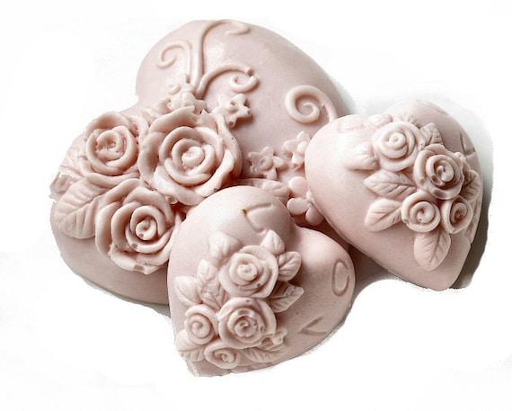 Decorative Gift Soap Love Hearts
