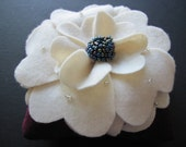 Ring Bearer Pillow Wedding  Purple Ivory  Carnation