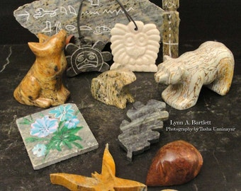 Illustrated Step By Step Soapstone Sculpting