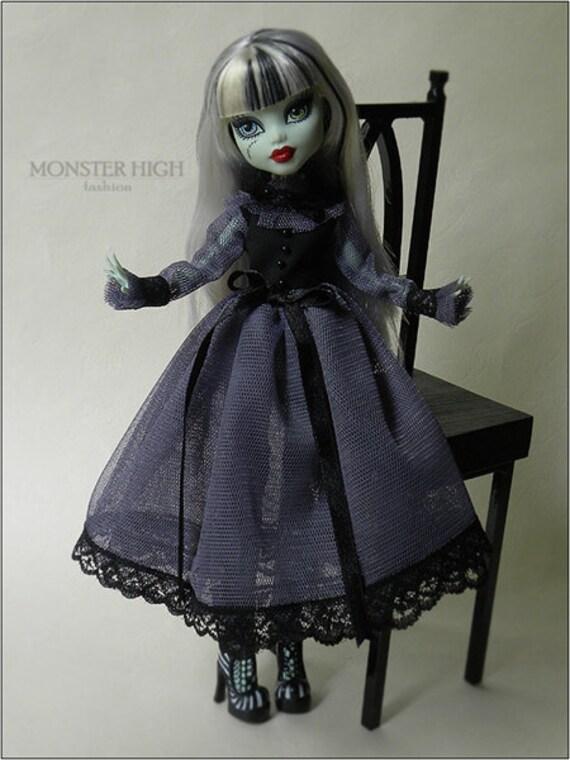 Monster High Romantic Elegant Tulle Dress