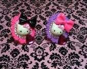 hello kitty ring (pink,purple avail)