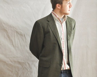 Mens Green Sport Coat Photo Album - Reikian