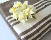 Natural Turkish Towel, Peshtemal, BATH, Hammam towel, Natural Soft Cotton, Bath towel, Beach Towel, Brown