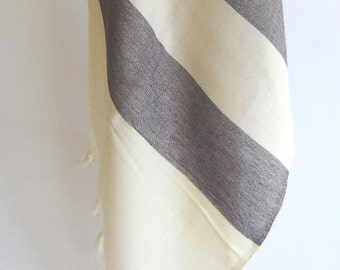 Handwoven Turkish Towel, Peshtemal, Natural Soft Cotton Bath, Spa,  Beach Towel,