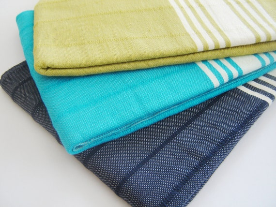 Turkish Towel,  Peshtemal, Eco-friendly, Natural Soft Cotton, Hammam, Beach towel, Bath towel, Spa, Yoga Towel, Aqua Blue