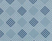 Prairie Paisley II By Minick and Simpson for Moda Blue 14737 25  - quilting fabric - cotton fabric
