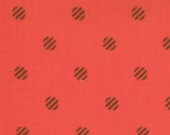 Fabric Its A Hoot by Momo for Moda Fabrics, color Cherry 32376 33