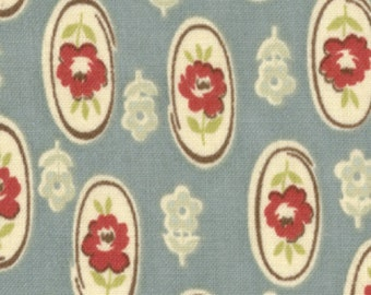 Urban Cowgirl Pony Ride by Urban Chiks for Moda color Turquoise 31085 13 - quilting fabric - cotton fabric