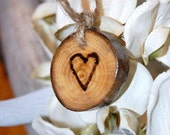 Aspen Hearts, Rustic Wedding Favors, Charms 50, Gift Tag, Outdoor Shabby Chic, Rustic Barn Nature, Hearts