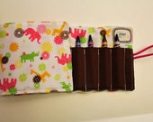Kid's Crayon Roll Up
