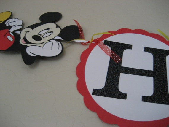 Mouse banner - READY TO SHIP -
