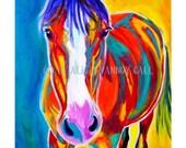 Horse, DawgArt, Southwestern Art, Horse Art, Pet Portrait, Pet Portrait Artist, Pet Portrait Painting, Art Prints, Equestrian Art