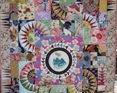 Emperors Wheel quilt pattern