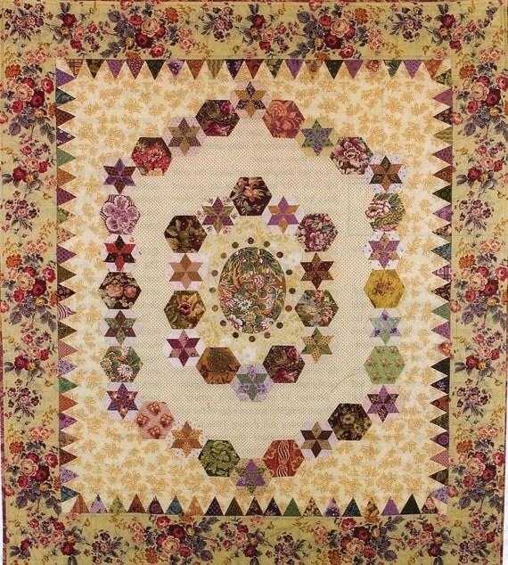 Hexagon Magic quilt pattern