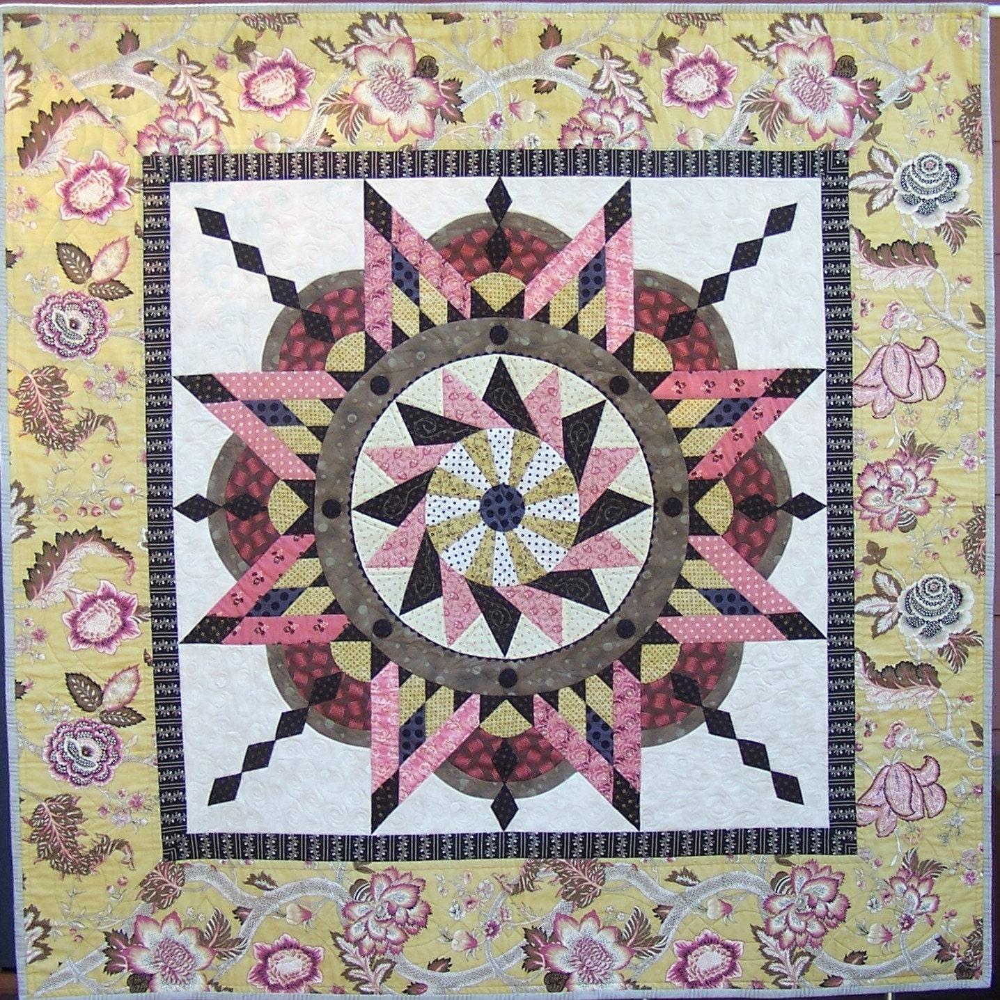 Jacobean Star quilt pattern : jacobean quilt - Adamdwight.com