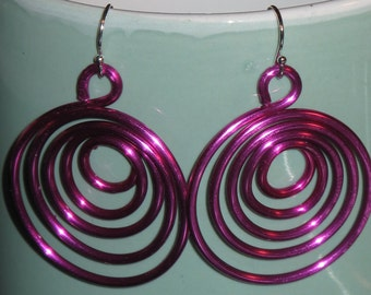 Wire Wrapped Hoop Earrings MADE to ORDER