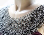 Chainmail Armor Bishop's Mantle Aluminum