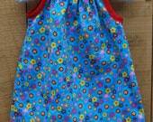 Pillowcase Dress - perfect now that spring or summer is on its way (sizes 12mo & 18mo)