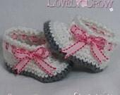 Booties Crochet Pattern for MY ANGEL BABY booties