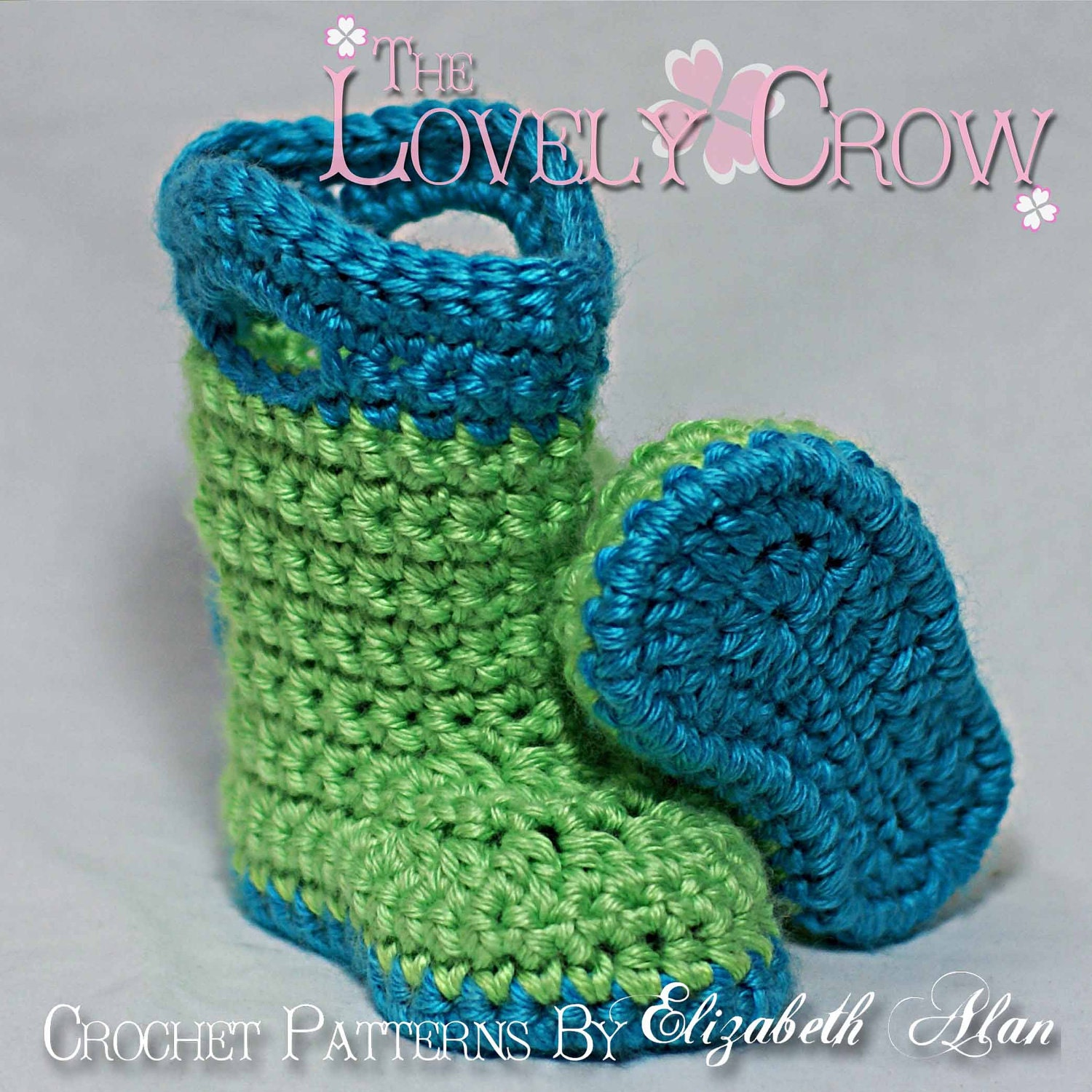 Boots Crochet Pattern for TODDLER GOSHALOSH by TheLovelyCrow