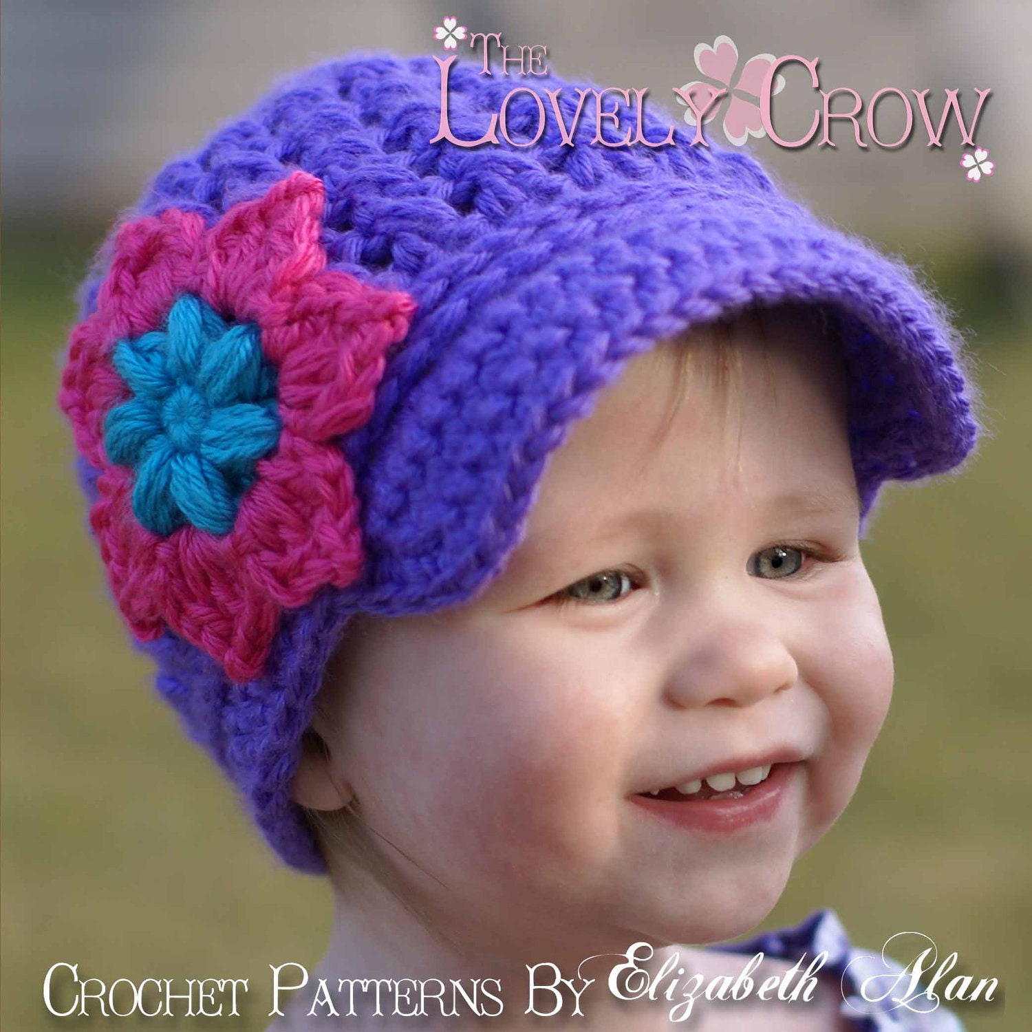 Baby newsboy beanie crochet pattern little sport newsboy hat zoom bankloansurffo Image collections