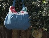 Denim Bag - A Little Garden for your Shoulder