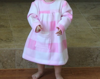 Toddler Dress - Arctic Fleece