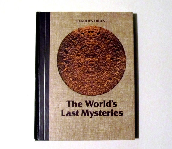 The Worlds Last Mysteries - Vintage Esoteric Book - Excellent Condition - Fully Illustrated