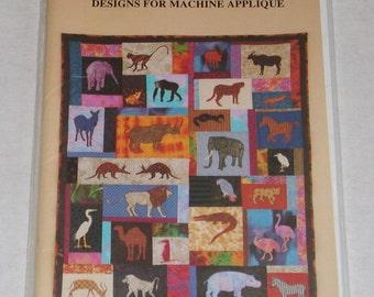 Safari Quilt Designs to Machine Applique Patterns by Deborah Konchinsky