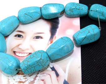 """turquoise 10beads,Loose beads,full strand of turquoise,gemstone stone beads FULL STRAND 8"""""""
