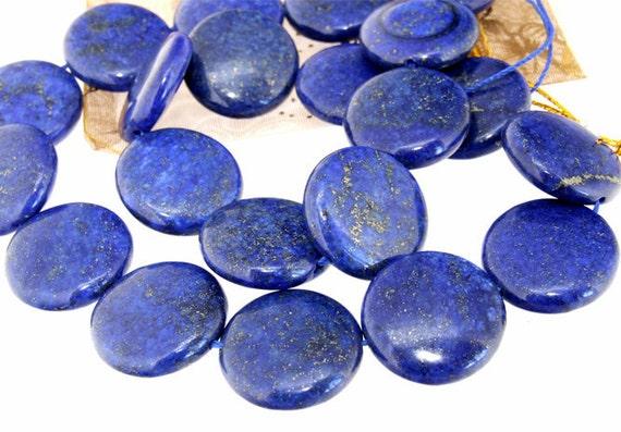 "gemstones Coin  Lapis Quartz Jasper beads Stone FULL STRAND 15.5"""