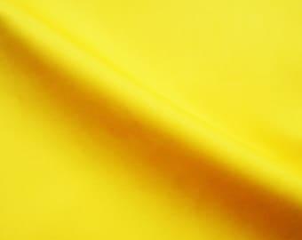 Bright yellow, solid color, fat quarter, pure cotton fabric