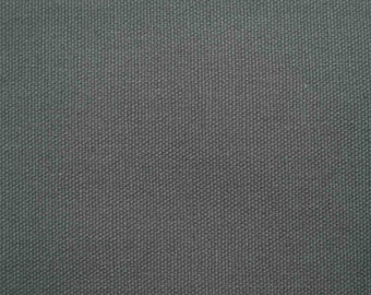 Gray, wide, medium weighted canvas, thick, fat quarter, pure cotton fabric
