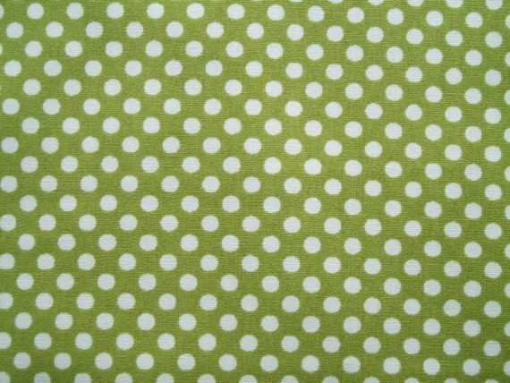 Green marble polka dots, fat quarter, pure cotton fabric