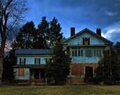 "Abandoned House -  Fine Art Photograph Print - 6""X9"""