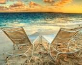 Morning by the Ocean - Travel Photography - Beach - Romance - Relaxation - Summer - Valentine - Fine Art Photograph - Art Print - 6X9 - JoshFriedmanPhoto
