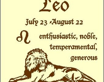 Leo sign of the Zodiac Astrology T-Shirt