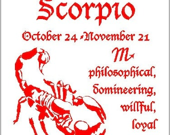 Scorpio sign of the Zodiac Astrology T-Shirt
