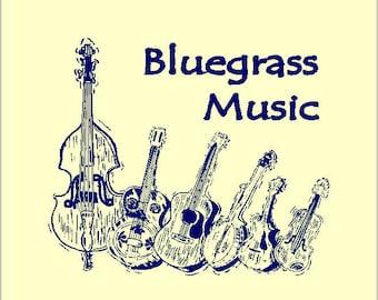 Bluegrass Music: Books