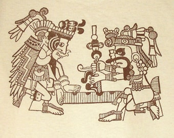 New Mayan Art T-Shirt