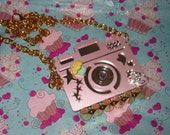 Chanel Cupcake Couture Camera Necklace